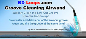 BD Loops Groove Cleaning Air Wand