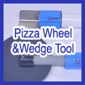 Pizza Wheel and Wedge Tool