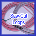 Preformed Saw-Cut Inductance Loops